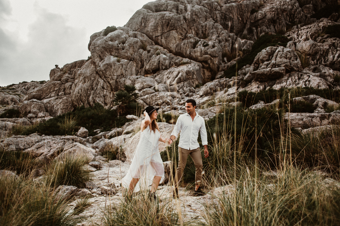 After-Wedding Shooting auf Mallorca