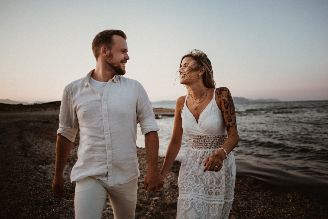Boho After-Wedding Shooting auf Mallorca